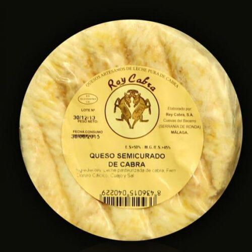 QUESO DE CABRA SEMICURADO DE REY CABRA