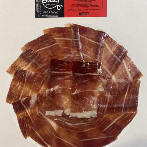 plato de jamón de bellota ibérico 50% raza ibérica