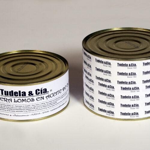 melva canutera lomos en aceite de oliva